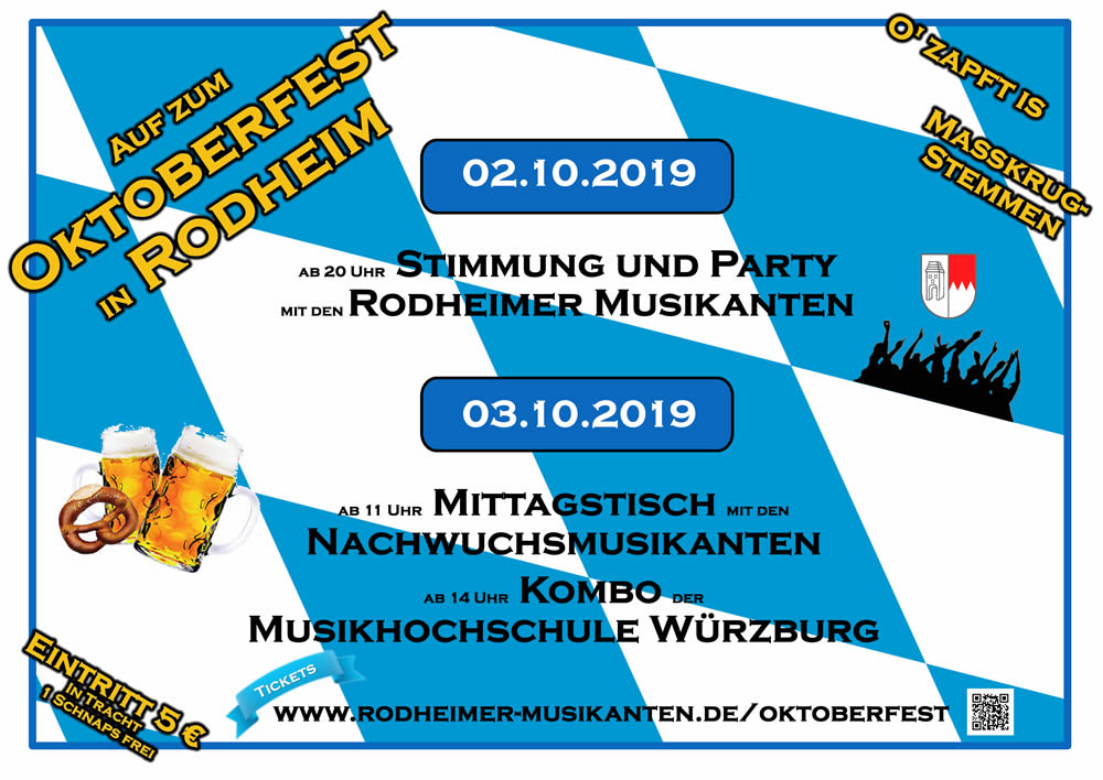 Das war der Hit: OKTOBERFEST in Rodheim!!!